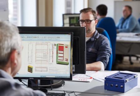 CAD-Konstruktion-Schaltschrankbau